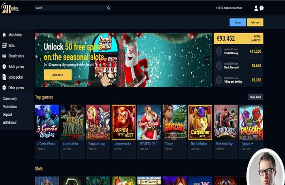 21 Dukes Casino No Deposit Bonus