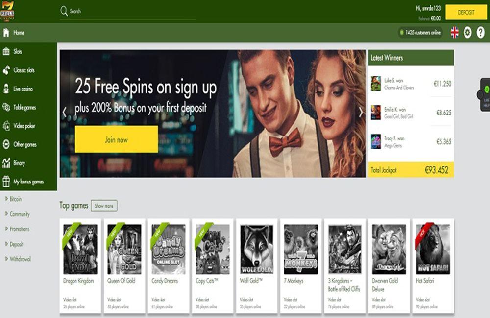7 Reels Casino Review Slot Games And Bonus Codes 2020 Slotmine