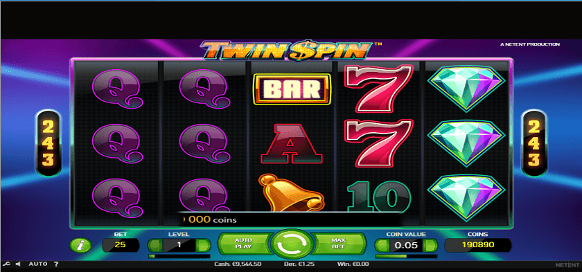 play for free twin spin slot