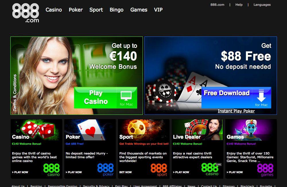 888 Com Casino
