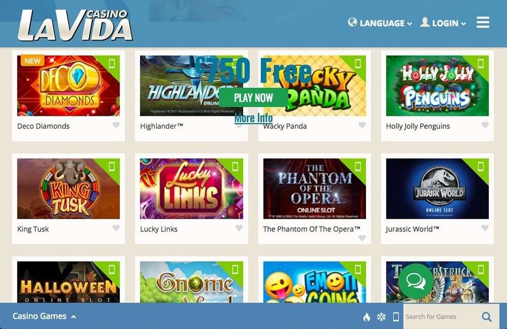 Casino La Vida Review ✓ Slot Games and Bonus Codes 2021 | Slotmine