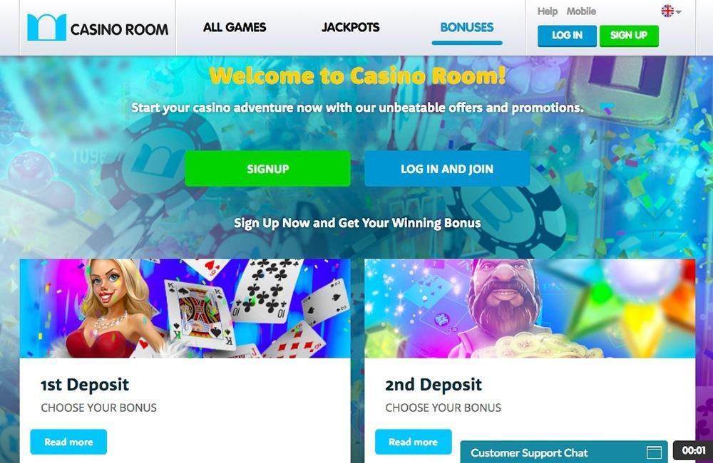 Casino Room Claim Code