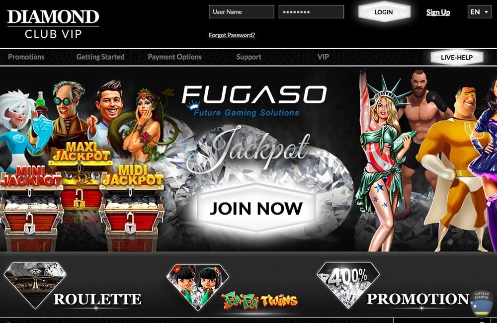 Diamond Vip Casino Review Slot Games And Bonus Codes 2020