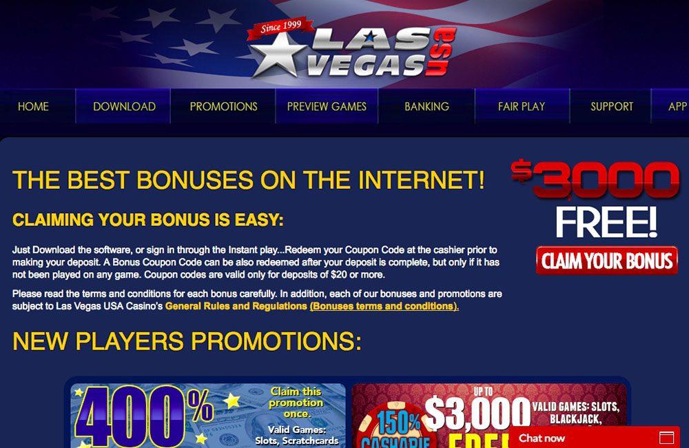 Las Vegas Usa Casino Review Slot Games And Bonus Codes 2020 Slotmine