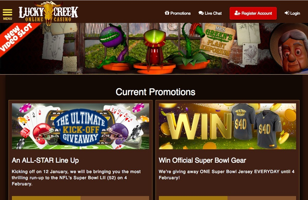 Lucky Creek Casino Review