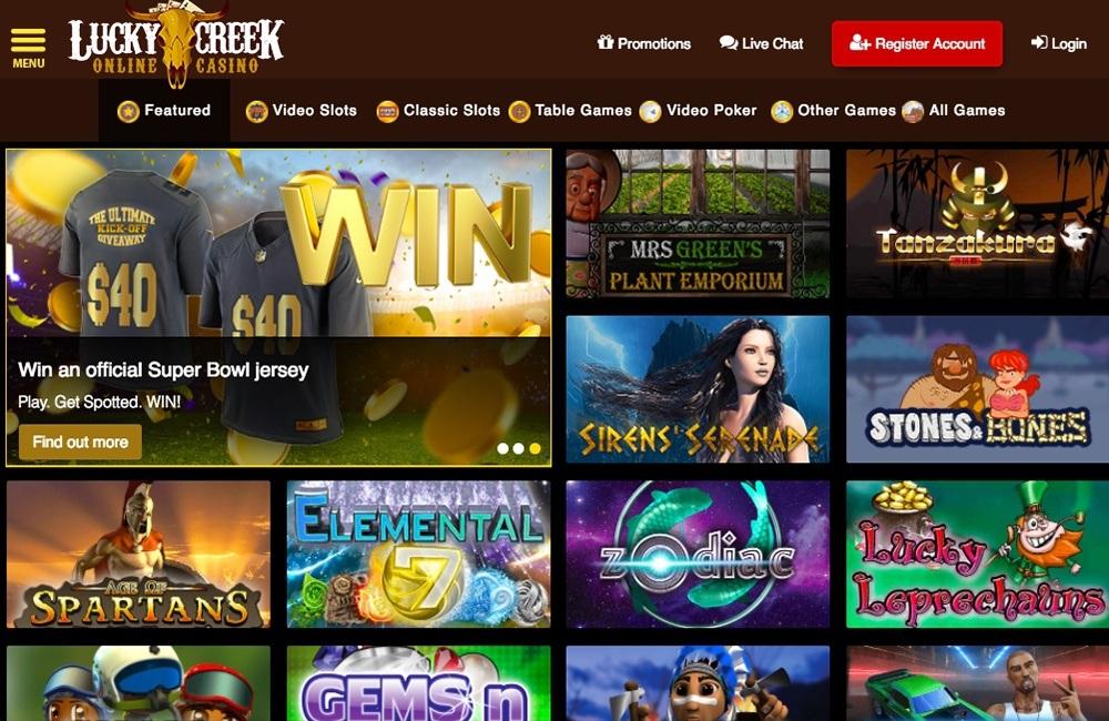 Lucky Creek Casino Review & Bonus