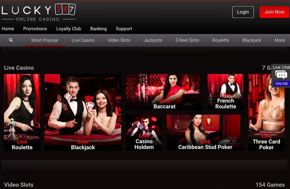 Lucky247 Casino Review