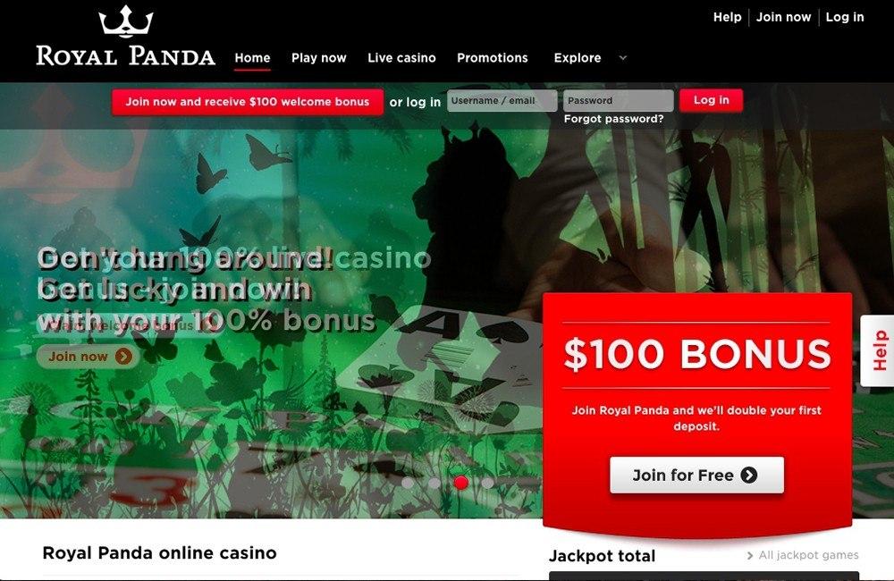 Royal Panda Casino Online