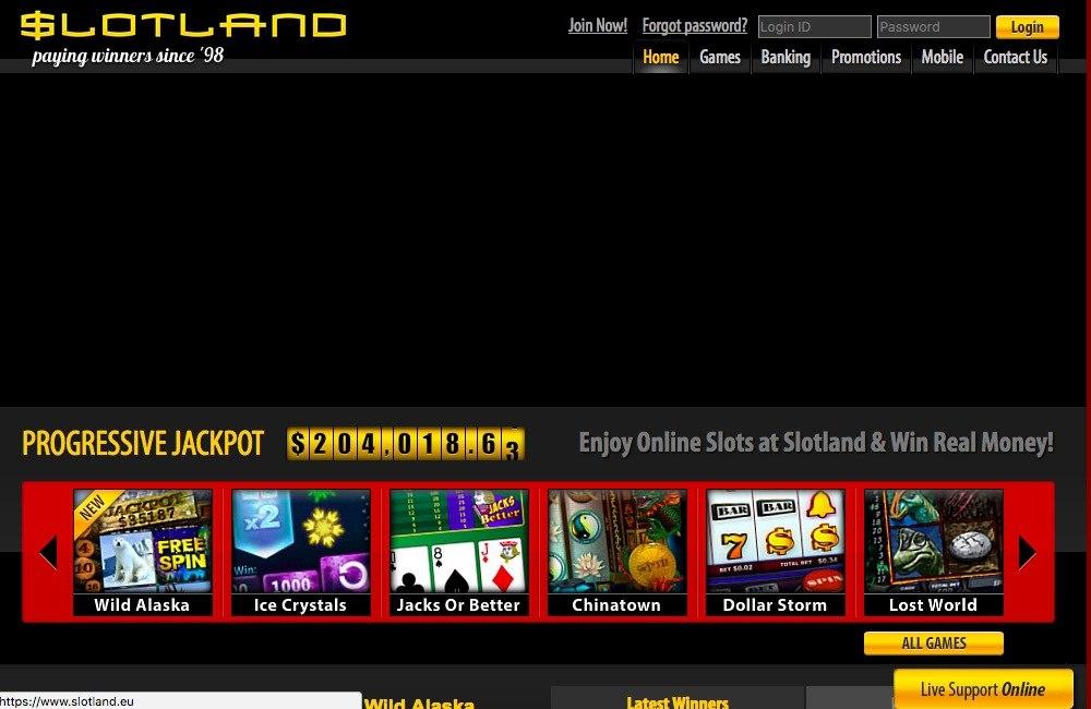 Slotland Bonus Codes