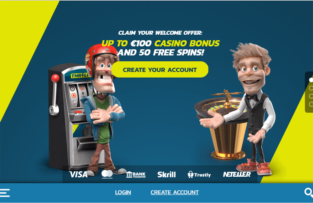 Bonus Code Thrills Casino