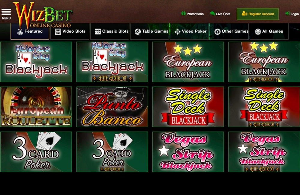 Wiz Bet Casino