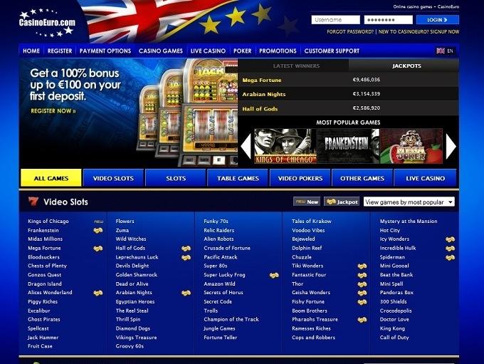 Casino Euro Review