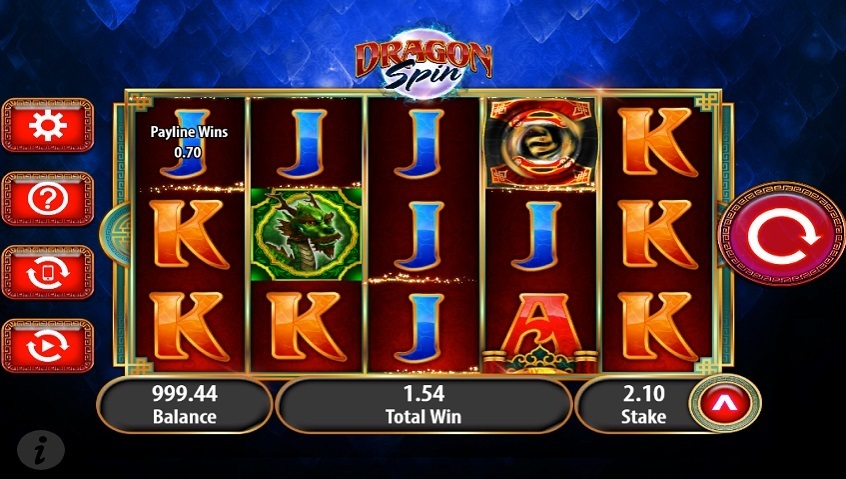 play dragon spin slot game