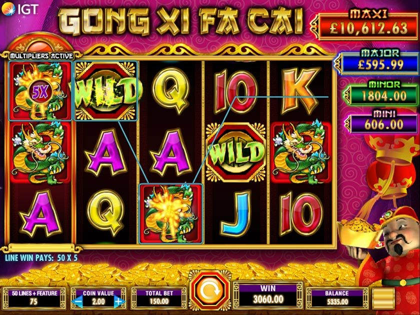 gong xi fai cai video slot